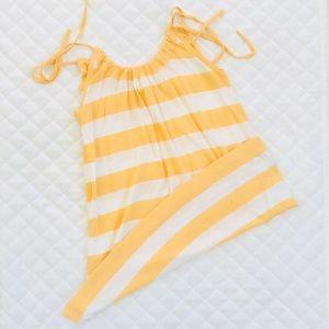 Banana Republic summer tie top.